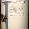 Jurtschitsch Sonnhof Alte Reben Riesling 2002