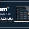NEMは現在、マグナムウォレットにサポートされています!