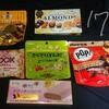 お菓子祭り!ちょこちょこ春をイメージしたチョコやアイスが出てきたね