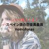 【Homofonos】あなたはいくつスペイン語の同音異義語を知っていますか?16個 オリジナル例文付き【yと ll】