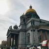 サンクトペテルブルク(聖イサアク大聖堂、血の上の救世主教会、ロシア美術館)