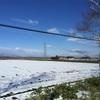 帯広市は雪景色