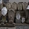 いまはなき岬にあった石仏がまつられているお寺 福岡県北九州市戸畑区北鳥旗町