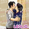 橋本聖子と高橋大輔のキス画像 イラスト2