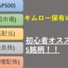 【ポートフォリオ大公開②】ETF5銘柄を公開!!初心者にはETFがオススメ!!