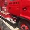 少年消防クラブ 県消防学校一日入校