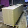 米松材のレジカウンター