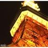 東京タワーは間近で見るライトアップが圧巻でした!空いている今がチャンスです!