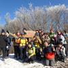 霧氷の三峰山トレッキング 開催しました!
