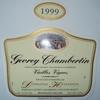 Gevrey Chambertin Vielles Vignes Domaine Heresztyn 1999