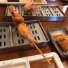 大阪・梅田『串かつ活』で『おまかせコース』32番街店