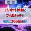 【必読】エリオット波動とフィボナッチ・リトレースメントで確実に20pips抜く方法