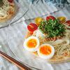 ピリ辛豆乳スープのぶっかけ素麺