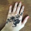 インドでヘナタトゥー(メヘンディ)!デリーでの相場と自分でやる方法