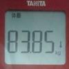 ダイエット日記 9日目 (開始から-2.3キロ)