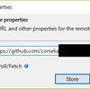 SmartGit でリモートリポジトリのアドレスを変更する方法