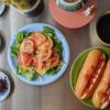 6/3(水)簡易ホットドッグ(ダブル)、菓子パン、おかずパン