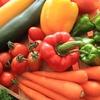 家庭菜園とスーパーの野菜