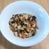 離乳食後期(9ヶ月)☆作り置きメニュー『大豆とひじきの煮物』栄養満点の組み合わせでおいしい離乳食!和風の味付けにも慣れてきた様子の娘です☆