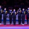 2021.4.17 世界フィギュア国別対抗戦2021 表彰式 ISU Figure Skatingより
