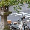 雨の隙間に住吉神社