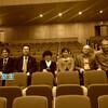 大阪国際音楽コンクールの審査員の先生方と、レタスのベランダ栽培