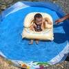 《育児》UKIUKIMARUとレスラー風水着で息子初のおうちプール!