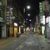 繁華街の灯が消えた 時短要請の熊本市中心部