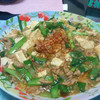 今日の晩飯 麻婆豆腐と野菜スープを作ってみた