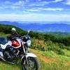大川原高原と大釜の滝と灌頂ヶ滝ツーリング