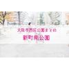 【公園情報】新町南公園(最寄り西大橋):大阪市西区公園まとめ