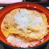 蕎麦屋のカツ丼