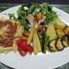 ミートミートソース&焼き野菜盛り✨