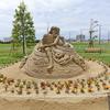 2019砂の彫刻美術展のオープニングイベント砂像