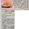 南日本新聞「かごしま食歳時記」連載開始です