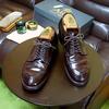 削れた靴の踵をお安く補修する