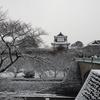 雪景色シリーズ(その7)「石川門」