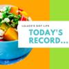 【ダイエット6日目】体脂肪と水分の関係(体重・体脂肪・食事・運動記録)