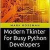 PythonのデフォルトGUIモジュールTkinterを使用したシンプルなGUIライブラリを作った