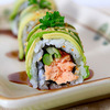Salmon Avocado Roll (by Duang)
