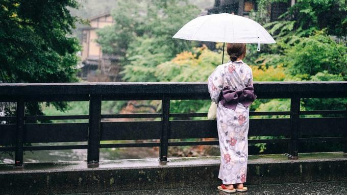 【熊本・南小国町】浴衣で巡る黒川温泉。雨が彩るしっとり女子旅。