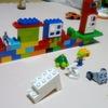 J(3歳)がレゴでディズニーランドを再現したらしい。【レゴデュプロ】