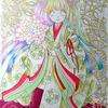 ランタナ平安チビ姫メイキングその2