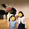 次女5歳、初めてのピアノ発表会。