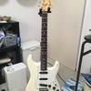 久しぶりにエレキギターを弾いてみた(-_-;)