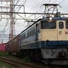 EF210代走77レ、PF国鉄色充当海コン列車 貨物列車撮影 9/19