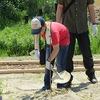 ふるさと再生プロジェクト③ 植栽作業