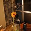 花とバレッタ