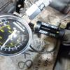 圧縮と点火電圧