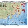 2016年08月03日 08時20分 相模湾でM2.7の地震
